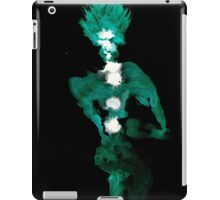 0096 - Brush and Ink - Button Hole iPad Case/Skin