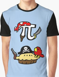 Pie and Pi Pirates Graphic T-Shirt