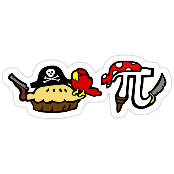 Pie and Pi Pirates by jezkemp