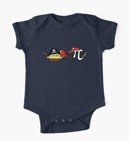 Pie and Pi Pirates One Piece - Short Sleeve