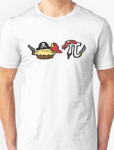 Pie and Pi Pirates Unisex T-Shirt