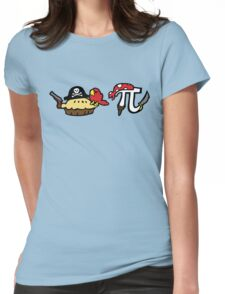 Pie and Pi Pirates Womens Fitted T-Shirt