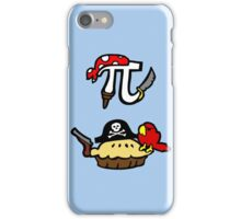 Pie and Pi Pirates iPhone Case/Skin