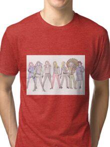 Strong Women Characters Tri-blend T-Shirt