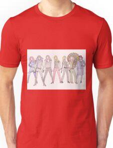 Strong Women Characters Unisex T-Shirt