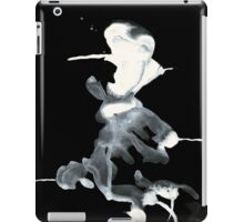 0094 - Brush and Ink - Piercer iPad Case/Skin