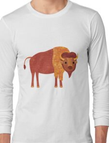 B is for Bison Long Sleeve T-Shirt