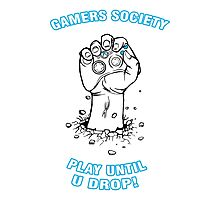 Gamers Society Photographic Print
