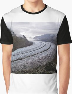 aletsch glacier Graphic T-Shirt