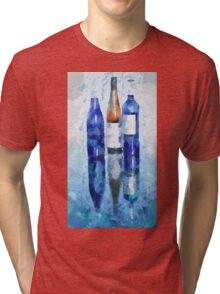 Wine Reflection Tri-blend T-Shirt