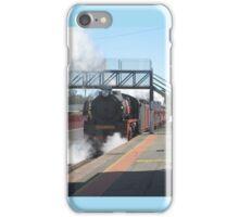 R Class Loco at Echuca Station iPhone Case/Skin