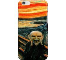 Voldemort' scream iPhone Case/Skin