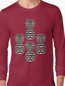 Pattern of Pineapples Long Sleeve T-Shirt