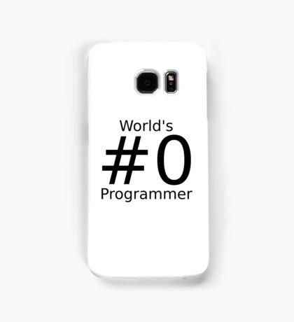 World's number zero programmer Samsung Galaxy Case/Skin