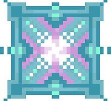 Crystal Energy - Pixel Art by Freddie Horton