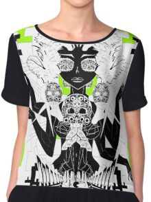 There is No Forbidden Temple Here Chiffon Top