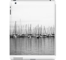 Winters Day at the Yacht Squadron iPad Case/Skin