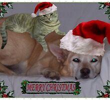Christmas Pals by glennmp