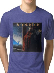 Kansas Band Album Concert Tour 12 Tri-blend T-Shirt