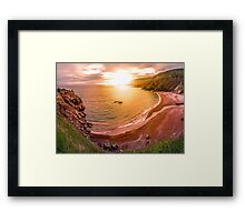 Sunrise in Meat Cove, Cape Breton Framed Print