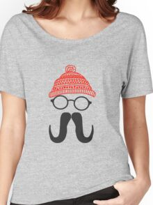 Mustache Women's Relaxed Fit T-Shirt