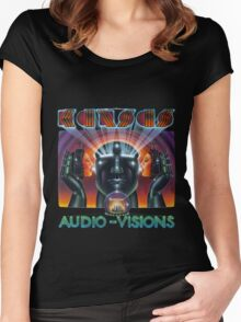 Kansas Band Album Concert Tour 14 Women's Fitted Scoop T-Shirt