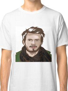 tutorial vector portrait  Classic T-Shirt