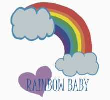 Rainbow Baby One Piece - Short Sleeve