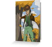 Raiden Legacy - Autumn Wolf (Chill) Greeting Card