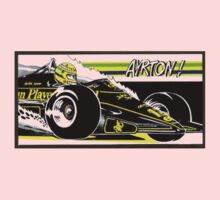 ayrton senna One Piece - Long Sleeve