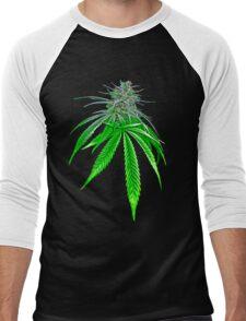Dope Bud Men's Baseball ¾ T-Shirt