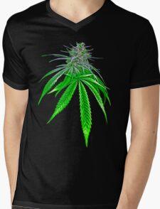 Dope Bud Mens V-Neck T-Shirt
