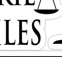 Seinfeld - Jackie Chiles Attorney At Law Sticker