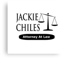 Seinfeld - Jackie Chiles Attorney At Law Canvas Print