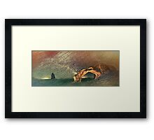 Once Again There was the Desert Framed Print