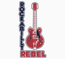 Rockabilly Rebel Kids Tee