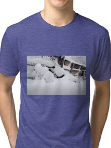 Holding Back the Cold Tri-blend T-Shirt
