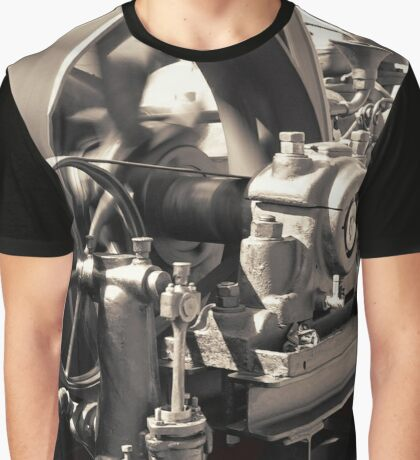 Swiftness of Wheels Graphic T-Shirt