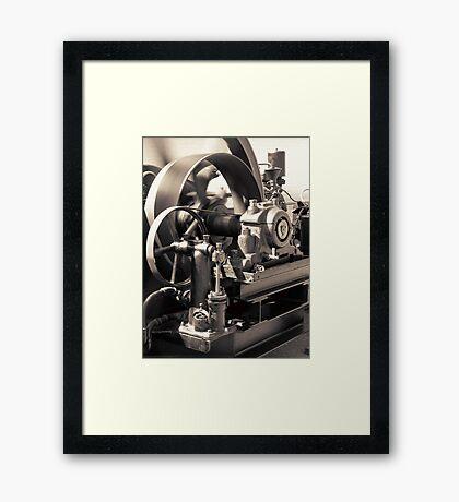 Swiftness of Wheels Framed Print