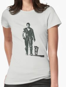MAD MAX - The Road Warrior Custom Poster Womens Fitted T-Shirt
