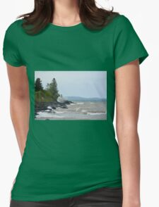 Waves of Gitchigumi 2 Womens Fitted T-Shirt