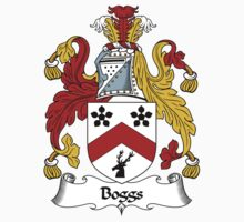 Boggs Coat of Arms / Boggs Family Crest One Piece - Long Sleeve