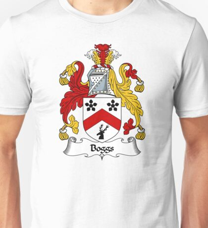 Boggs Coat of Arms / Boggs Family Crest Unisex T-Shirt