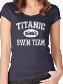 Titanic Swim Team 1912 Women's Fitted Scoop T-Shirt