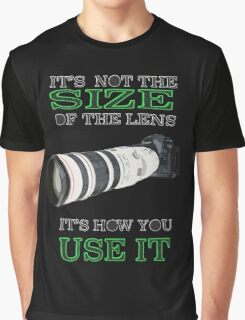 the size of the lens 3 Graphic T-Shirt