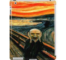 Voldemort' scream iPad Case/Skin