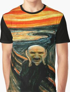 Voldemort' scream Graphic T-Shirt