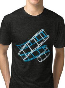 Photo film roll Tri-blend T-Shirt