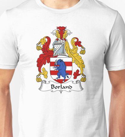 Borland Coat of Arms / Borland Family Crest Unisex T-Shirt
