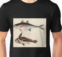 Naturgeschichte in Bildern mit erläuterndem Text E Strack 1820 Lief 4 Fish 066 Unisex T-Shirt